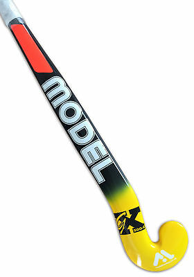 Model Goalie Hockey Stick 50% Carbon Mid Bow Zig Zag