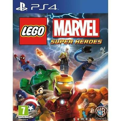 Lego Marvel Super Heroes - PS4 IMPORT neuf sous blister