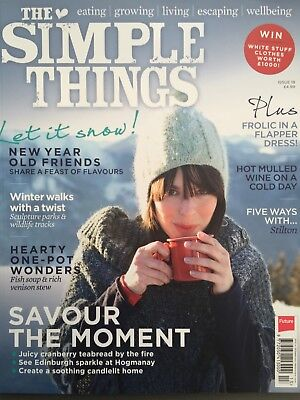 The Simple Things Magazine Issue 18 December 12/2013 Let it Snow! New Year Old