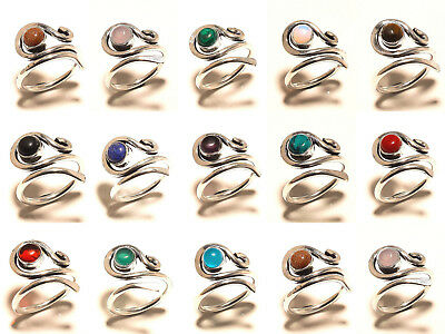 Silver Plated Rings Gemstone Fashion Jewellery As Good Price Ac11