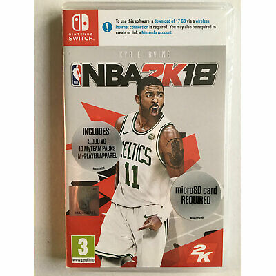 NBA 2K18 Basketball (Nintendo Switch) New and Sealed