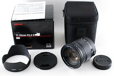 Excellent++++ Sigma 17-50mm F2.8 EX DC HSM Pentax from Japan A514