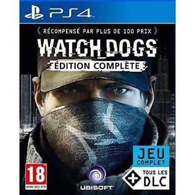 Watch Dogs Complete Edition - PS4 neuf sous blister VF