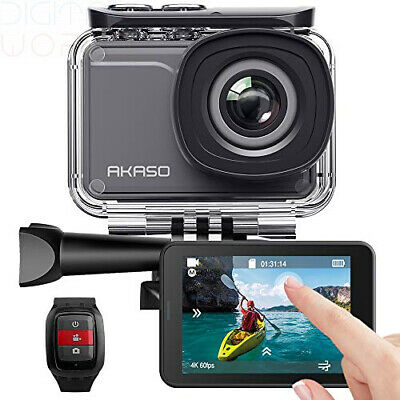 AKASO V50 Pro Native 4K/30fps 20MP WiFi Action Camera with EIS Touch Screen...
