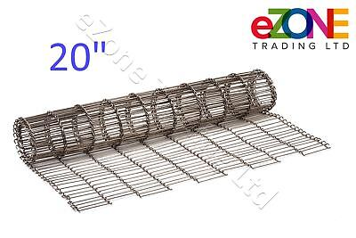 "Pizza Oven Conveyor Belt Chain 20"" ZANOLLI Synthesis 08/50 Wire Mesh"