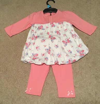 Clothes, Shoes & Accessories George Baby Pink Leggings Bnwt Age 3-6 Months