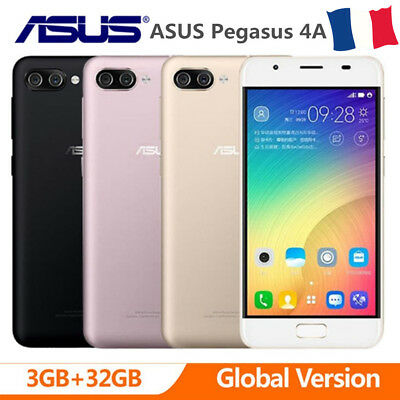 """ASUS Pegasus 4A 3+32Go 4G Smartphone 4100mAh 5.0"""" Téléphone Android 7.0 Touch ID"""