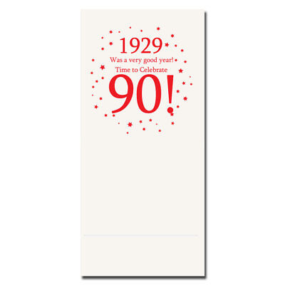Happy 90th Birthday Age 90 1929 Party Supplies BANQUET DINNER NAPKINS
