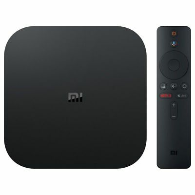 XIAOMI MI BOX S 4K HDR Android TV Streaming Google Assistant Global (ITALIA)