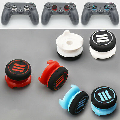 Analog Extenders Grips Enhanced Thumb Stick Caps Trigger Buttons for PS3 PS4