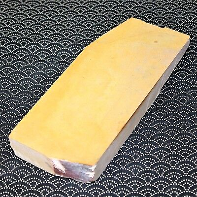 OLD Japanese Natural Whetstone NAKAYAMA Kiita Lv5++ 706g Razors from JAPAN a984