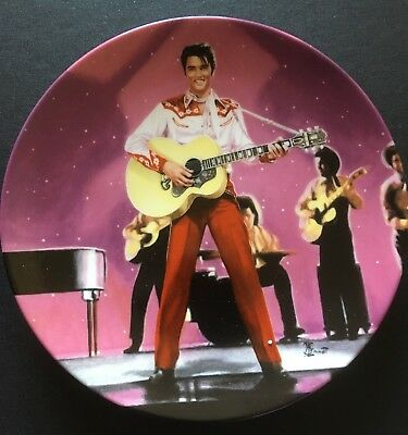 """Elvis """"Loving You"""" - Limited Edition, no'd Delphi Collector's Plate (with COA)"""