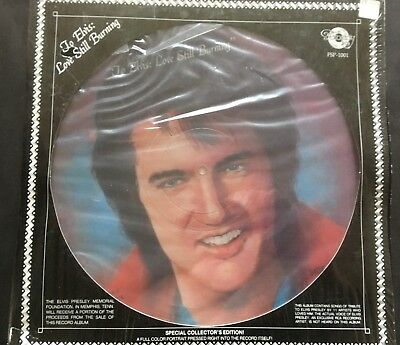 To Elvis: Love Still Burning - 1978 Collector's Edition Picture Disc Tribute LP
