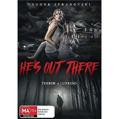 He's Out There  Dvd, New & Sealed, 2018 Release, Region 4, Free Post