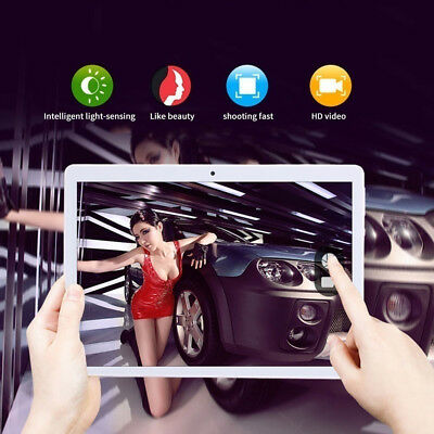 Tablet PC Android 7.0 Octa Core 10.1 Inch HD WIFI Dual Sim 4G Bluetooth Camera