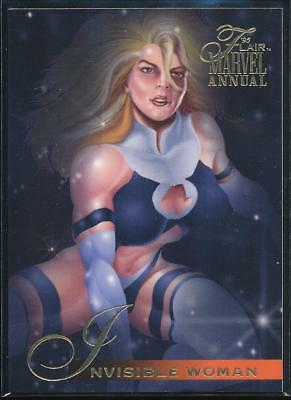 1995 Flair Marvel Annual Trading Card #76 Invisible Woman