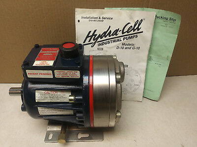 Hydra-Cell Pump D10EKCGHFECA Wanner Engineering