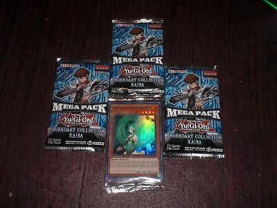 3x YuGiOh Legendary Collection Kaiba 1st Edition Booster Mega Pack LCKC From Box