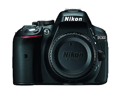 Nikon D5300 24.2MP Digital SLR Camera - body with 32G SD card, battery & charger