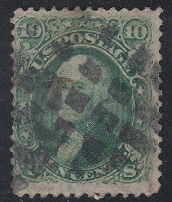 TDStamps: US Stamps Scott#68 10c Washington Used CV$65.00