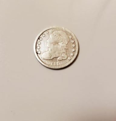 1835 Capped Bust Dime / VERY RARE! - FULL LIBERTY!