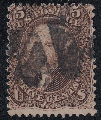 TDStamps: US Stamps Scott#95 5c Jefferson Used CV$900.00