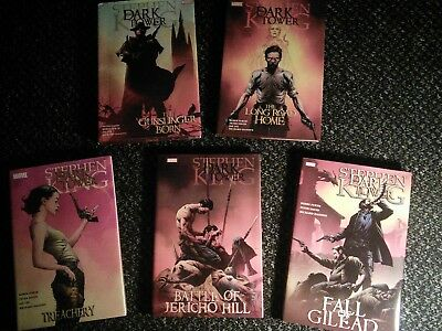 The Dark Tower: First 5 hardback graphic novels published by Marvel comics.