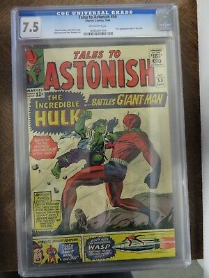 Cgc 7.5 Tales To Astonish #59 Silver Age