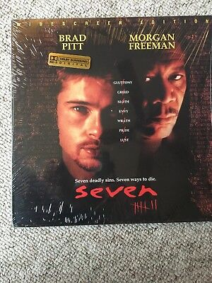 SEVEN Laserdisc Widescreen Edition NM Disc Manufactured In Japan