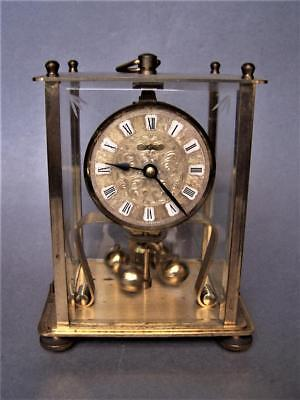 Kern Anniversary Clock 400 Day Torsion and Glass Dome Working