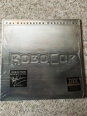 Robocop The Criterion Collection double Laserdisc Manufactured In Japan NM