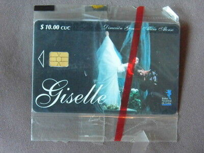 Chip kaart MINT SEALED Cuba  -  GISELLE