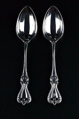 """Set of Two (2) TOWLE """"Old Colonial"""" Sterling Silver Five O'Clock Teaspoons"""
