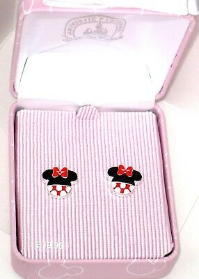 Minnie Mouse Classic Pink Bow Ears Icon Necklace✿ New Disney Parks Authentic Box