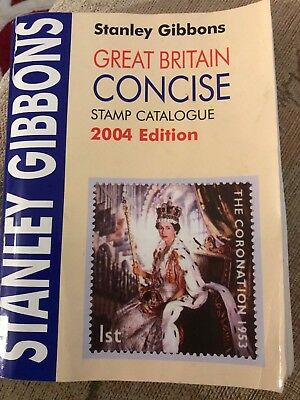 Stanley Gibbons Great Britain Concise Stamp Catalogue 2004