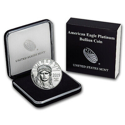 2019 1 oz Platinum American Eagle BU (w/U.S. Mint Box) - SKU#185245