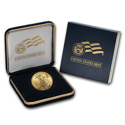 2019 1/2 oz Gold American Eagle BU (w/U.S. Mint Box) - SKU#185243