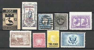 World Stamps Missed Perforation Group