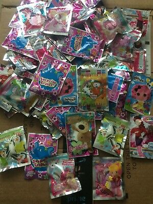 70 ERASERS in packets ideal for Party Bags  WHOLESALE BULK BUY