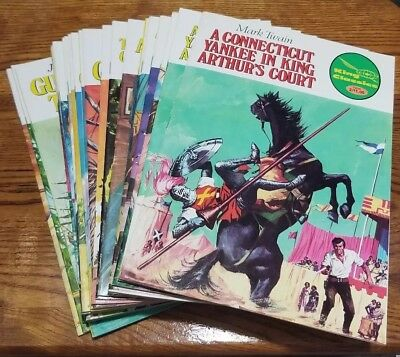 LOT OF KING CLASSICS Illustrated SPAIN 1ST 2ND EDITIONS classic comic 1970's