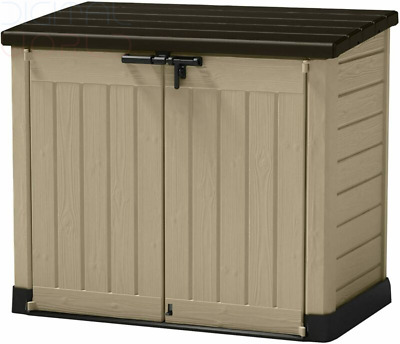 Keter Store-It Out Max Outdoor Plastic Garden Storage Shed 145.5 x 82 x 125 cm