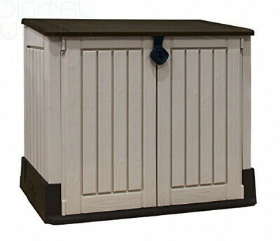 Keter Store-It Out Midi Outdoor Plastic Garden Storage Shed 130 x 74 x 110 cm