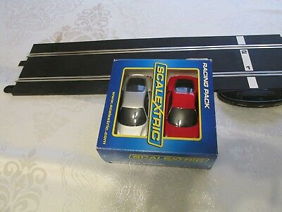 Scalextric Cars 1:32 Twin Set Ferrari F430 In Great Condition