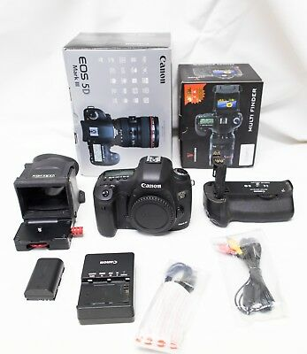 Canon EOS 5D Mark III Body w/ Battery Grip & Varavon Multi Finder
