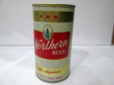 Northern Beer Can Steel EMPTY Removeable pull Tab Nice SEE Description