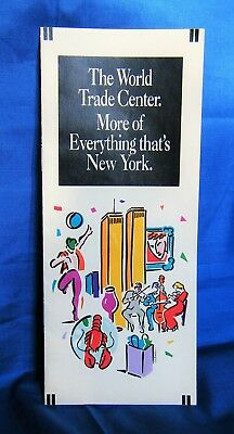 World Trade Center brochure More Of Everything 1992 Twin Towers WTC