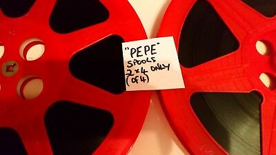 "16MM  ""P*E*P*E "" Cantinflas, 2nd  REEL &, LAST REEL /COLOR"