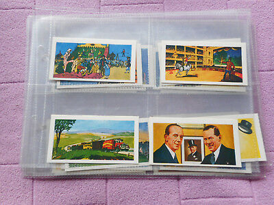 Full Set Trade Cards - Barker Gum - Circus Scenes