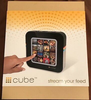 CUBE Social Media Feed Streaming Device