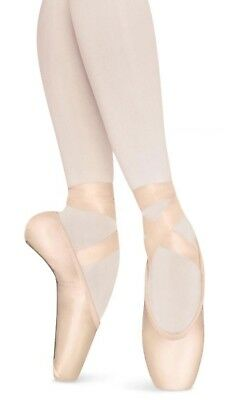 BLOCH SIGNATURE REHEARSAL Pink BALLET POINTE Toe SHOES size 3.5 C Girls NEW NIB